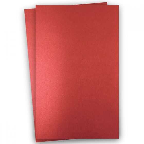Shine Red Satin (2) Paper Find at PaperPapers