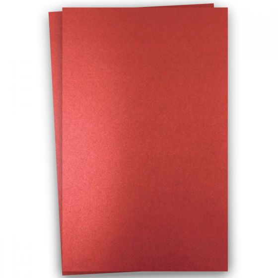 Shine Red Satin (2) Paper Offered by PaperPapers