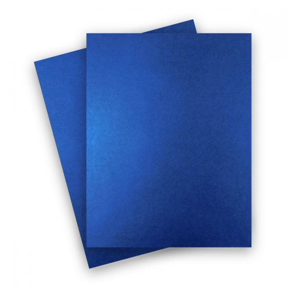 Shine Blue Satin (2) Paper Order at PaperPapers