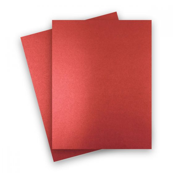 Shine Red Satin (2) Paper Order at PaperPapers