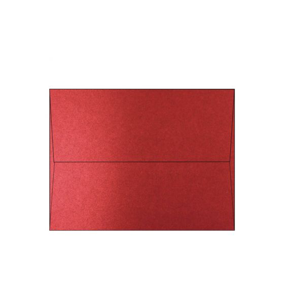 Shine Red Satin (2) Envelopes Offered by PaperPapers
