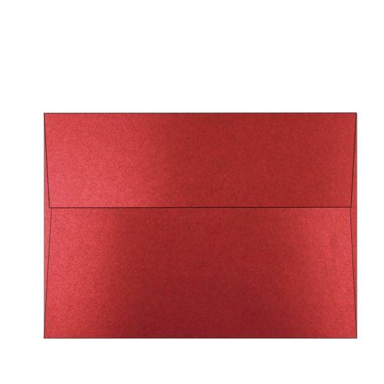 Shine Red Satin (2) Envelopes Order at PaperPapers
