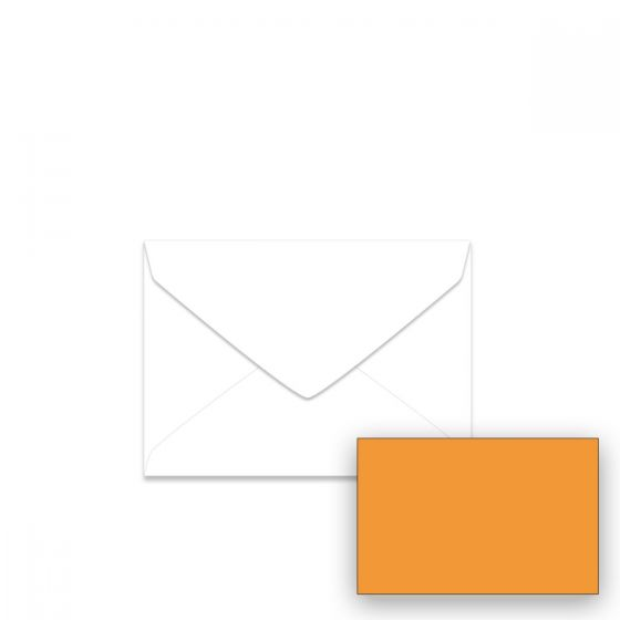 Astrobrights Cosmic Orange (1) Envelopes Offered by PaperPapers