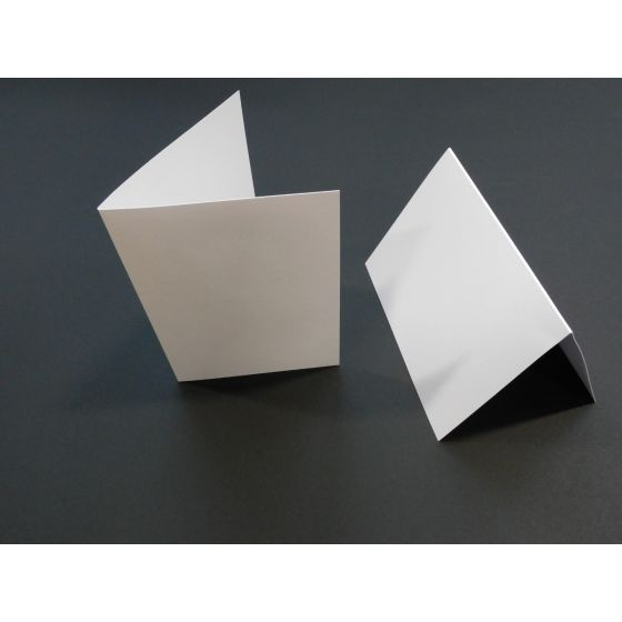 Shine Pearl White (6) Folded Cards From PaperPapers
