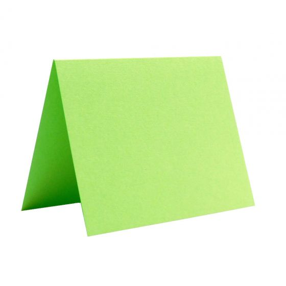 Basis Light Lime (3) Folded Cards Purchase from PaperPapers
