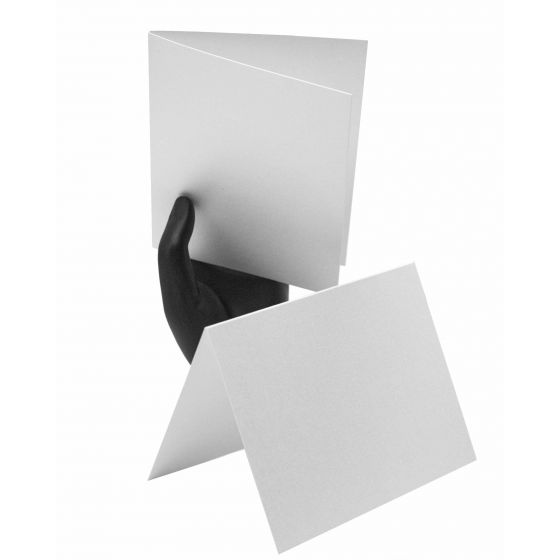 Shine Pearl White0 Folded Cards Offered by PaperPapers