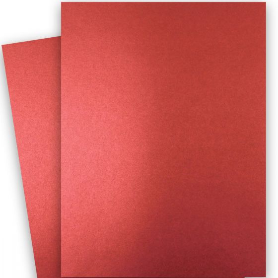 Shine Red Satin (2) Paper Shop with PaperPapers