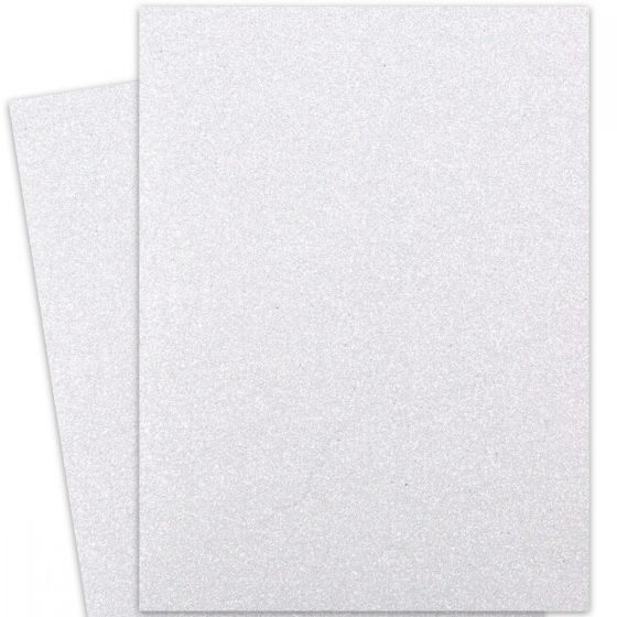 Glitter Diamond White (3) Paper Offered by PaperPapers