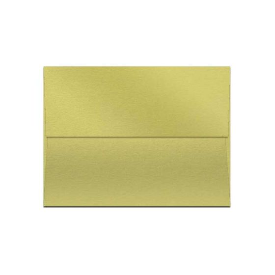 Curious Metallic Lime (1) Envelopes Available at PaperPapers