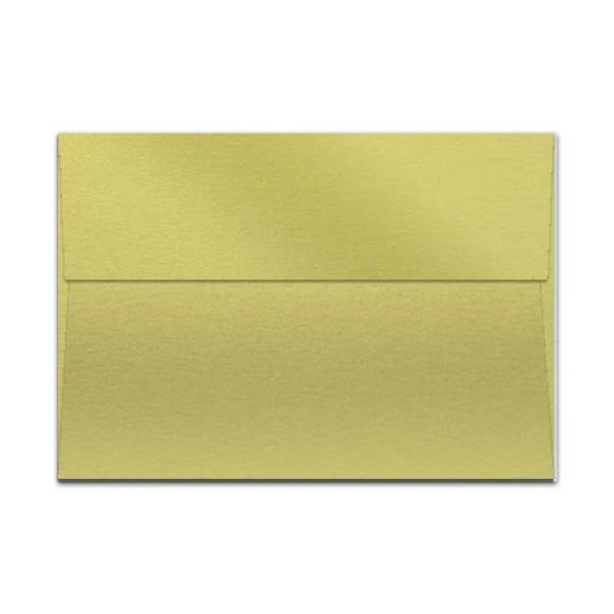 Curious Metallic Lime (1) Envelopes Offered by PaperPapers