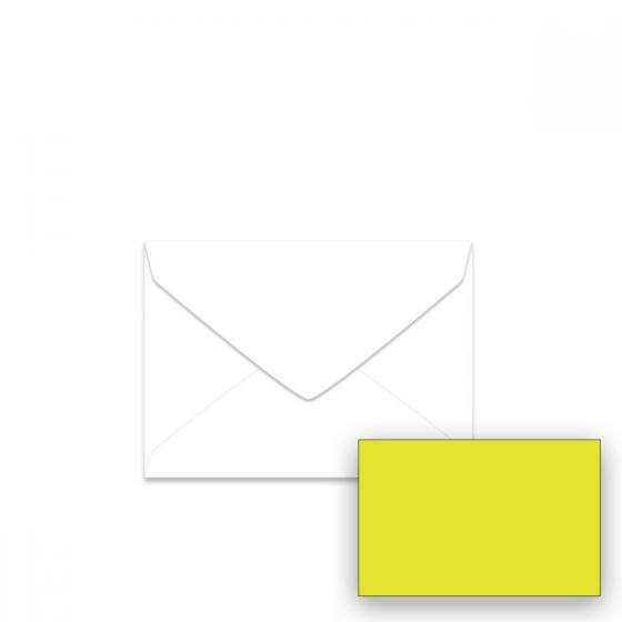 Astrobrights Lift-Off Lemon (1) Envelopes -Buy at PaperPapers