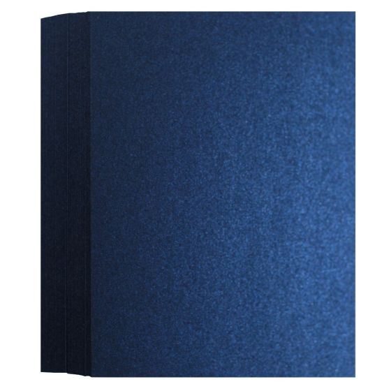 Shine Midnight Blue (3) Flat Cards Offered by PaperPapers