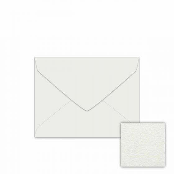 Neenah Cotton Pearl White (2) Envelopes Available at PaperPapers