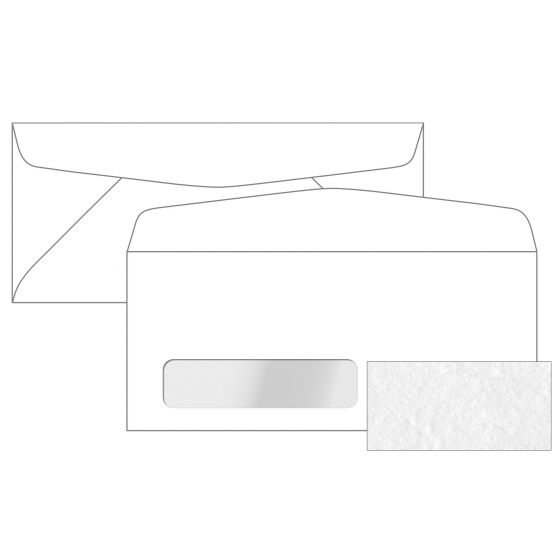 Canaletto Premium White (2) Envelopes Order at PaperPapers
