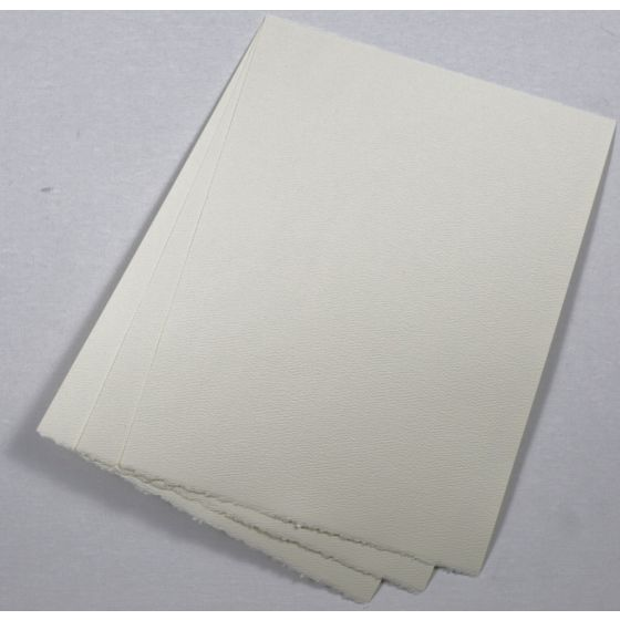 Strathmore Premium Pastelle Natural White (3) Paper Available at PaperPapers
