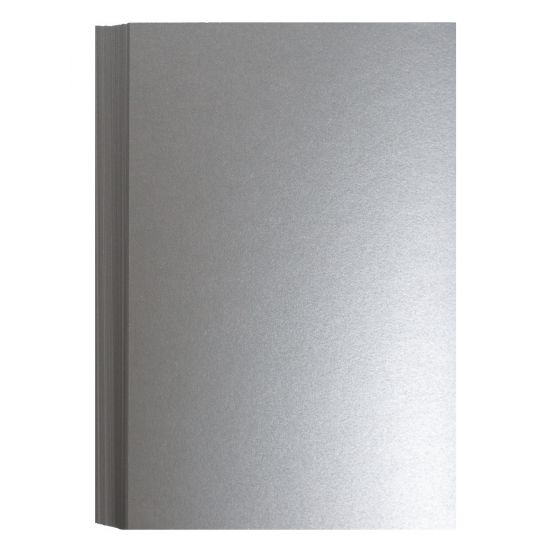 FAV Shimmer Pure Silver (2) Flat Cards Shop with PaperPapers