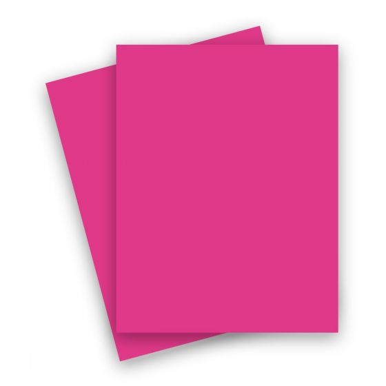 2PBasics Bright Pink (2) Paper From PaperPapers