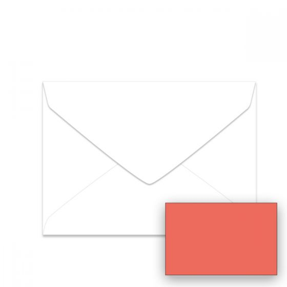 Astrobrights Rocket Red (1) Envelopes Shop with PaperPapers