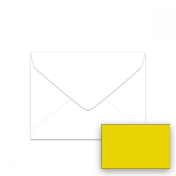 Astrobrights Sunburst Yellow (1) Envelopes Offered by PaperPapers