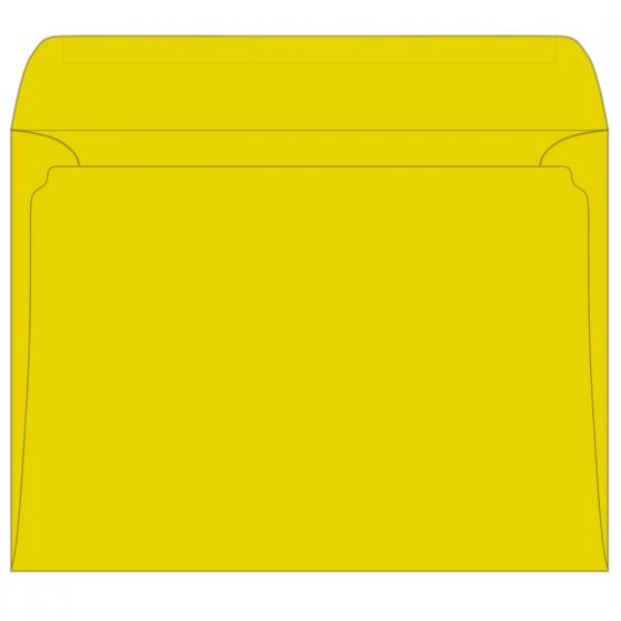 Astrobrights Sunburst Yellow (1) Envelopes Order at PaperPapers