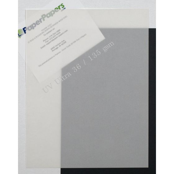 UV Ultra White Translucent (2) Paper Find at PaperPapers
