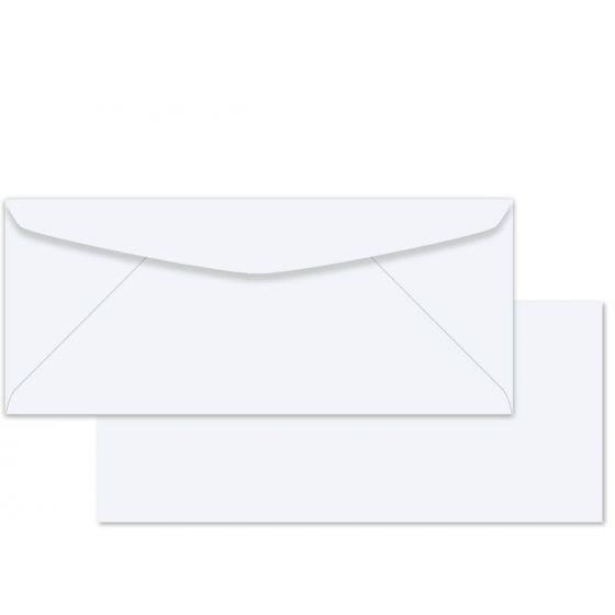 Commodities White Wove (2) Envelopes Order at PaperPapers