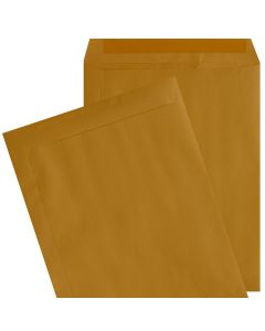 [Clearance] 9X12 Catalog Envelopes - 24lb Brown Kraft - (9 x 12) - 500 Pk
