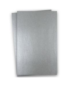 Shine PEWTER - Shimmer Metallic Card Stock Paper - 11x17 Ledger Size - 107lb Cover (290gsm) - 100 PK
