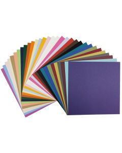 Basis12-x-12 Cardstock Variety Pack (31 colors / 2 each) - 62 PK