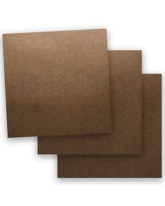 Shine BRONZE - Shimmer Metallic Card Stock Paper - 12 x 12 - 107lb Cover (290gsm) - 50 PK