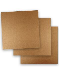 Shine COPPER - Shimmer Metallic Paper - 12 x 12 - 32/80lb Text (118gsm) - 50 PK
