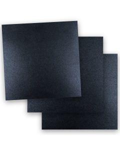 Shine ONYX - Shimmer Metallic Paper - 12 x 12 - 32/80lb Text (118gsm) - 50 PK