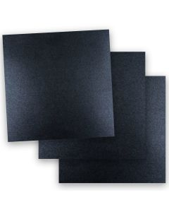 Shine ONYX - Shimmer Metallic Card Stock Paper - 12 x 12 - 107lb Cover (290gsm) - 50 PK