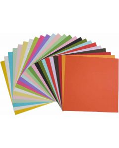 Poptone 12-x-12 Cardstock Variety Pack (24 colors / 3 each) - 72 PK