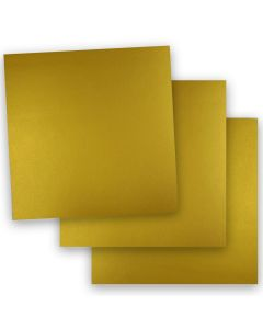 FAV Shimmer Premium Gold - 12 x 12 Card Stock Paper - 92lb Cover (250gsm) - 50 PK