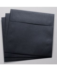 Stardream Metallic - 7.5 in Square ENVELOPES - ONYX - 25 PK