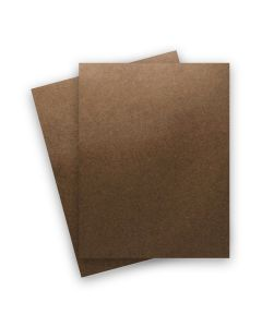 Shine BRONZE - Shimmer Metallic Card Stock Paper - 8.5 x 11 - 107lb Cover (290gsm) - 25 PK