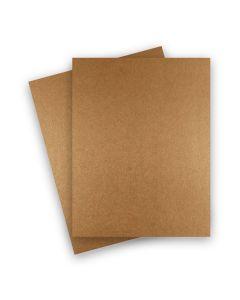 Shine COPPER - Shimmer Metallic Card Stock Paper - 8.5 x 11 - 107lb Cover (290gsm) - 25 PK