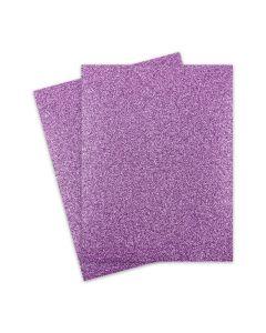 Glitter Paper - Glitter LIGHT PURPLE (1-Sided) 8.5X11 Letter Size - 10 PK