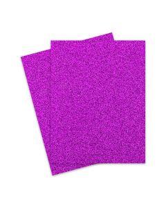 Glitter Paper - Glitter PUNCH (1-Sided) 8.5X11 Letter Size - 10 PK