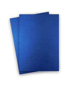 Shine BLUE SATIN - Shimmer Metallic Card Stock Paper - 8.5 x 14 - 92lb Cover (249gsm) - 150 PK