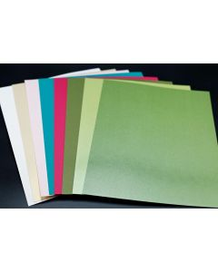 FAVORITE Tropics Mix - Text Papers - (8 colors / 5 each) 40 sheets