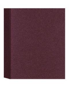 Shimmer Garnet Plum 107C (4.25X5.5) A2 Flat Cards - 50 pack