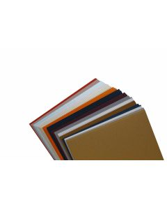A7 Flat Cards Variety Pack 5 x7 Insert Metallic Finish (15 colors / 3 each) - 45 PK