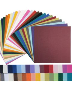 BASIS COLORS - 12 x 12 Square Size Lightweight Paper - 28/70 TEXT - 50 PK