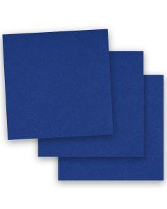 BASIS COLORS - 12 x 12 CARDSTOCK PAPER - Blue - 80LB COVER - 50 PK