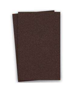 BASIS COLORS - 11 x 17 CARDSTOCK PAPER - Brown - 80LB COVER - 100 PK