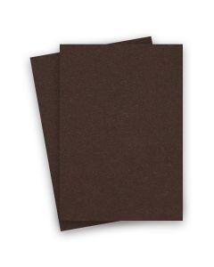 BASIS COLORS - 8.5 x 14 CARDSTOCK PAPER - Brown - 80LB COVER - 100 PK
