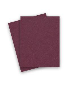 BASIS COLORS - 8.5 x 11 PAPER - Burgundy - 28/70 TEXT - 200 PK
