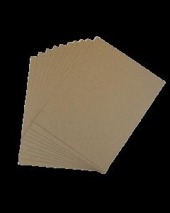 Kraft Raw CHIPBOARD 30 PT 8.5-x-11-inch - 100 Sheets per pack